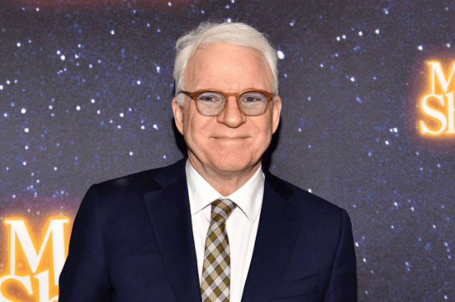 """Steve Martin attends the """"Meteor Shower"""" Broadway Opening Night at the Booth Theatre. 