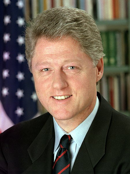 Official White House photo of PresidentBill Clinton in 1993.| Photo: Wikimedia Commons