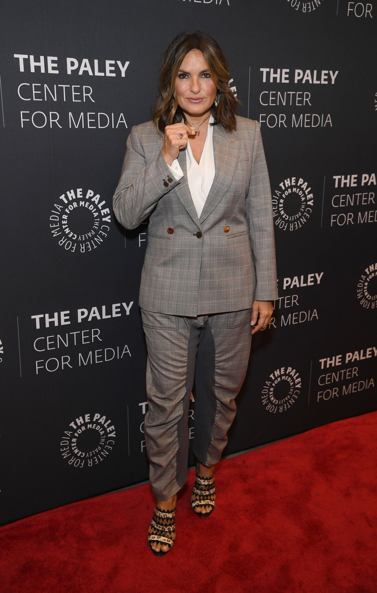 "Mariska Hargitay attends the ""Law & Order: SVU"" Television Milestone Celebration at The Paley Center for Media  