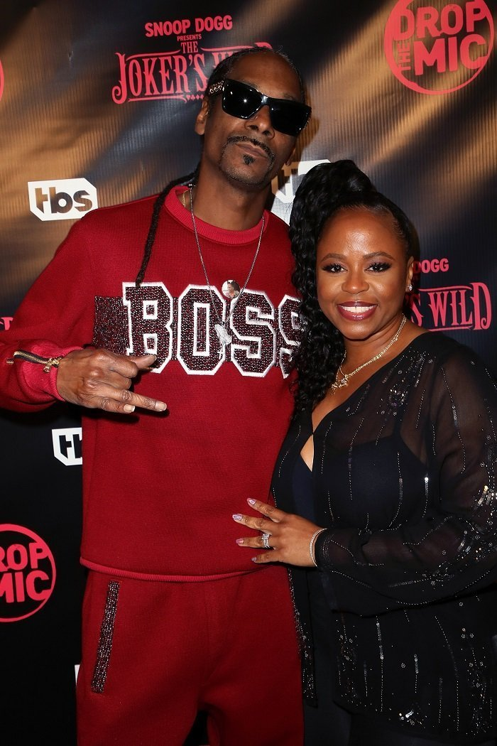 Snoop Dogg & Shante Taylor I Image: Getty Images