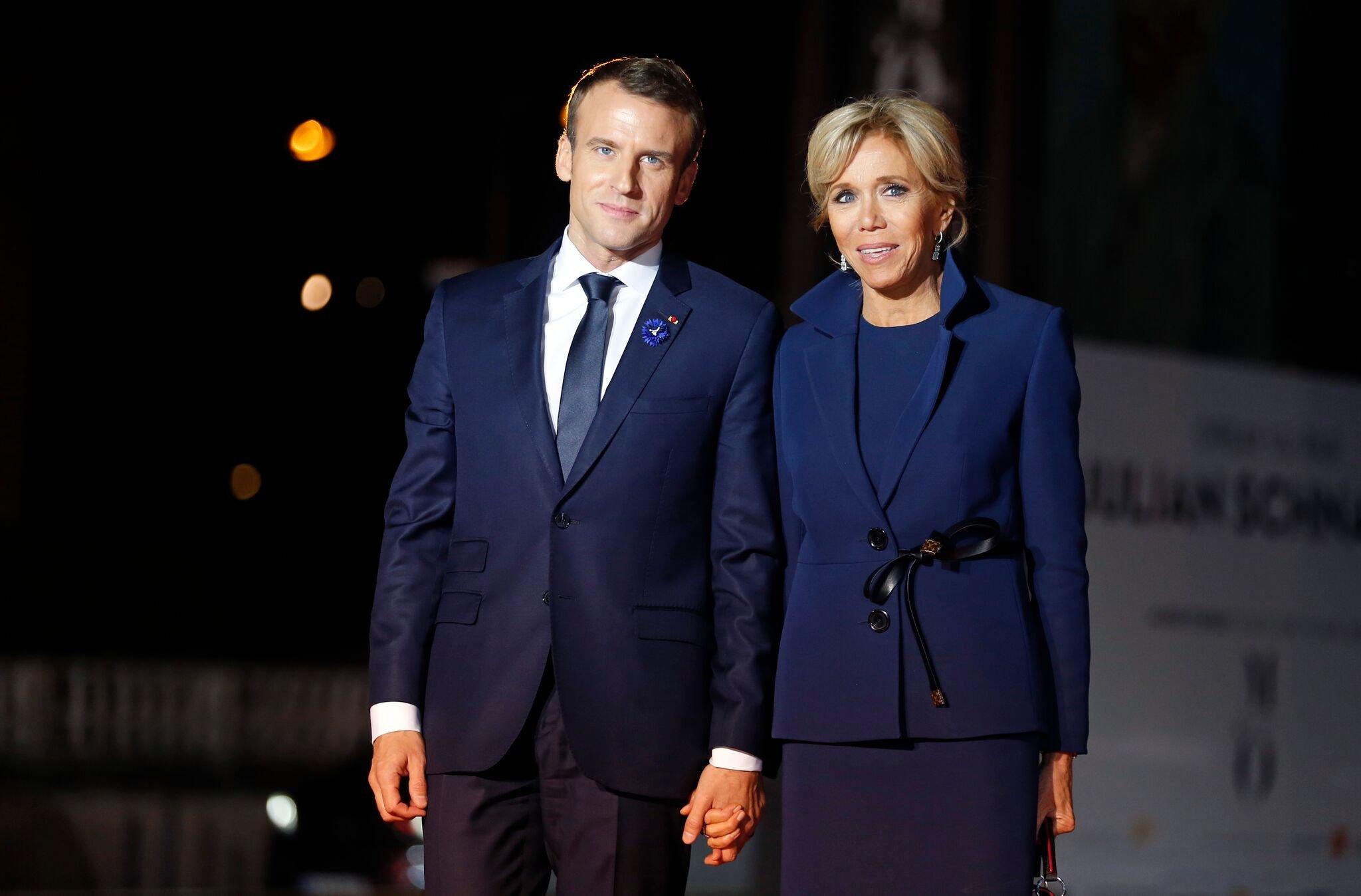 Le couple présidentiel français. l Source : Getty Images