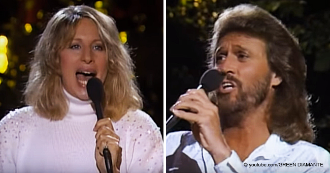 Fabulous Video of Barry Gibb and Barbra Streisand Performing 'Guilty' Still Bewitches Us