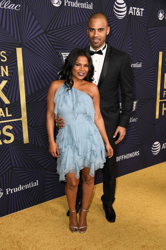 Nia Long and her fiancé Ime Udoka. I Image: Getty Images.
