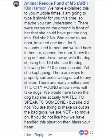 Captura de pantalla de una explicación de lo ocurrido en el refugio | Captura: Facebook