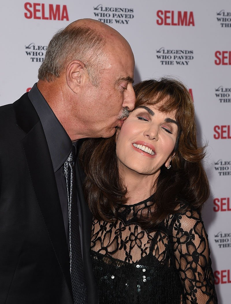 Dr. Phil Robin McGraw attending the 'Selma' and the Legends Who Paved the Way gala at Bacara Resort in Goleta, California in December 2014. I Image: Getty Images.