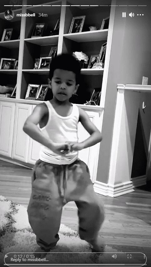Nick Cannon's son Golden showing off his Kung Fu skills | Photo: Instagram.com/missbbell
