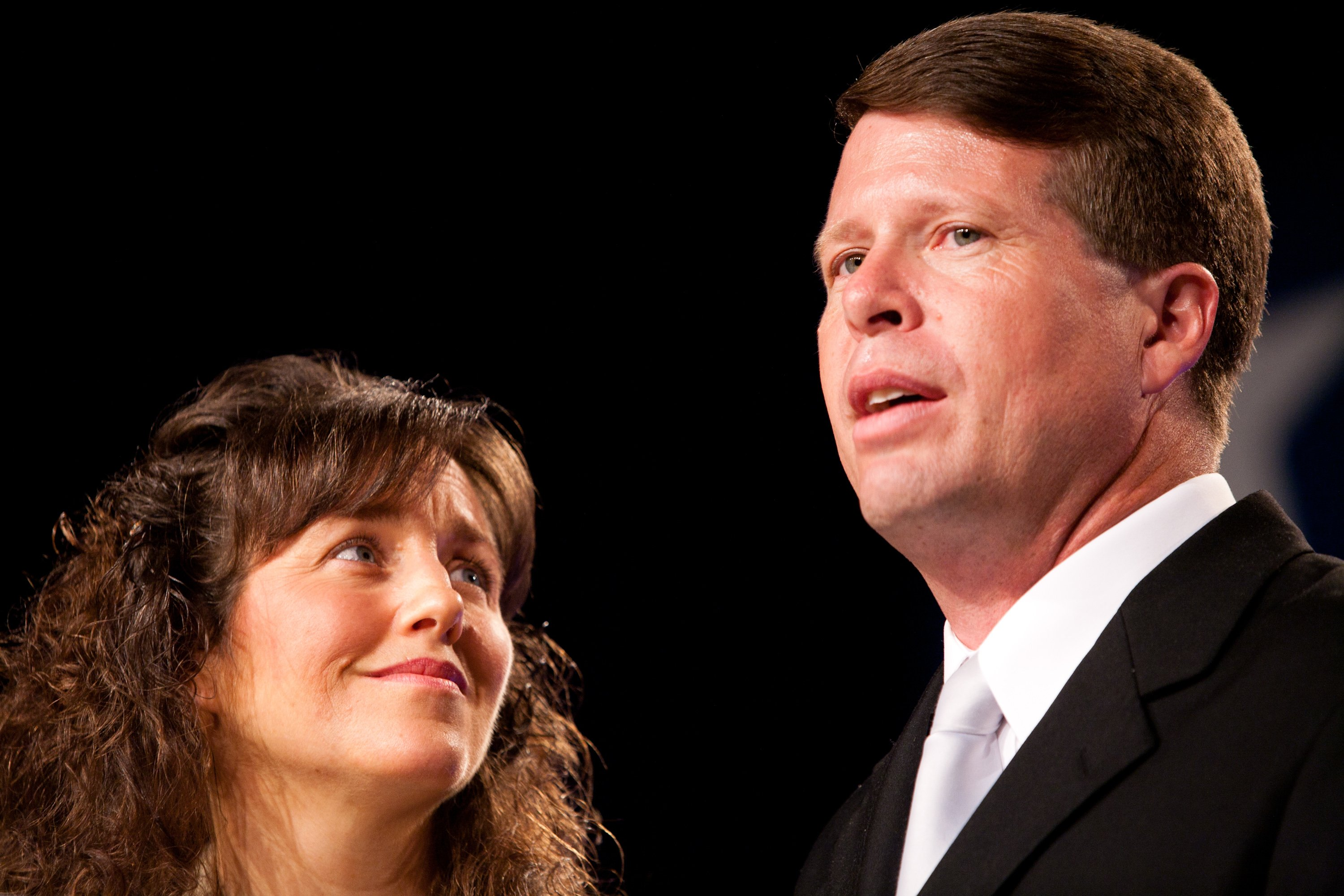 Jim Bob and Michelle Duggar at the Values Voter Summit | Photo: Getty Images