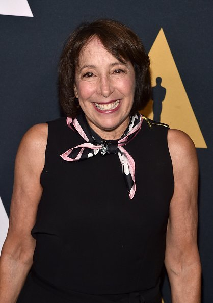 """Didi Conn attends the """"Grease"""" 40th anniversary screening at Samuel Goldwyn Theater on August 15, 201,8 in Beverly Hills, California. 