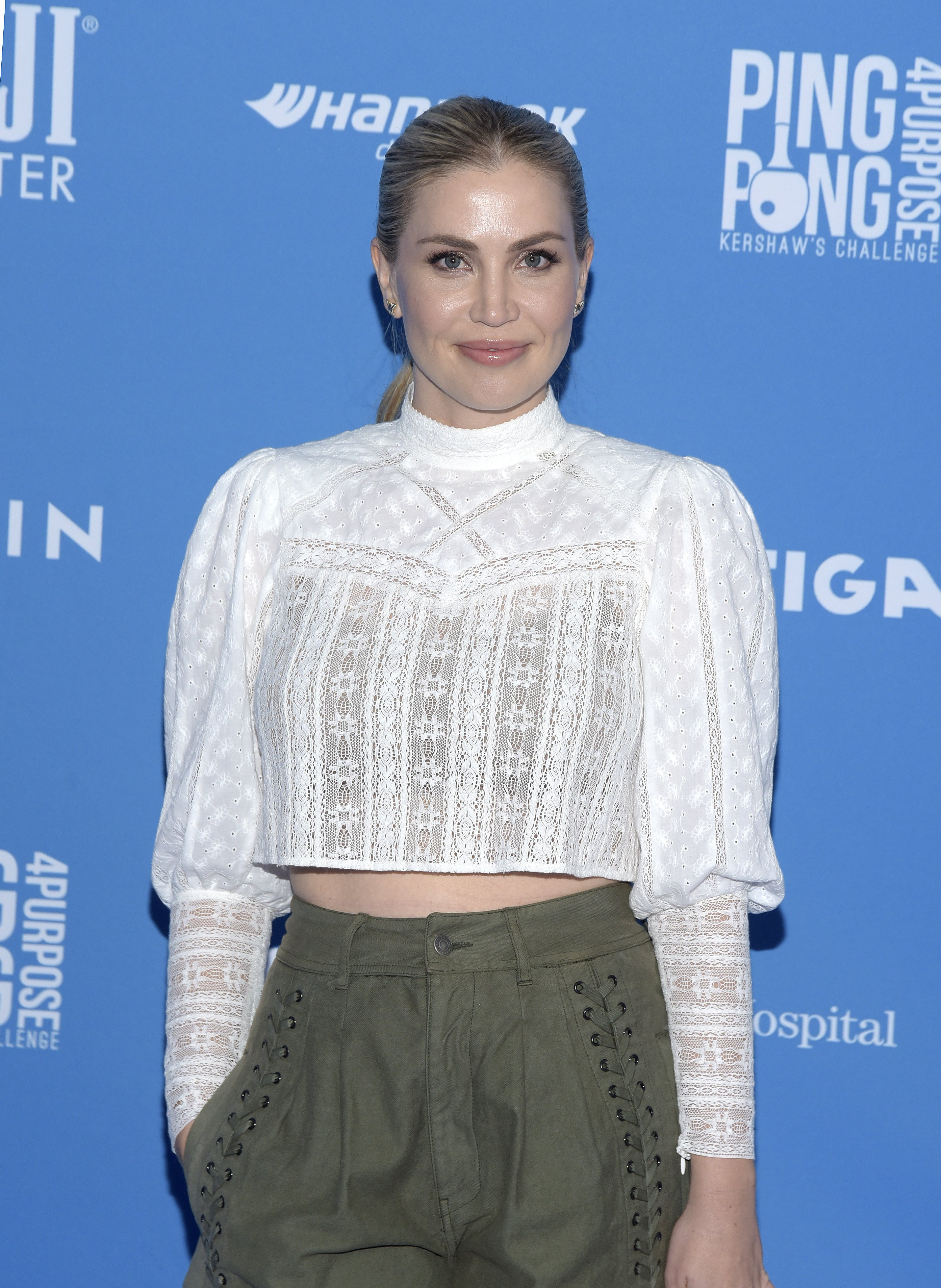 Willa Ford at the 7th annual Ping Pong 4 Purpose celebrity tournament fundraiser on August 08, 2019 | Photo: Getty Images