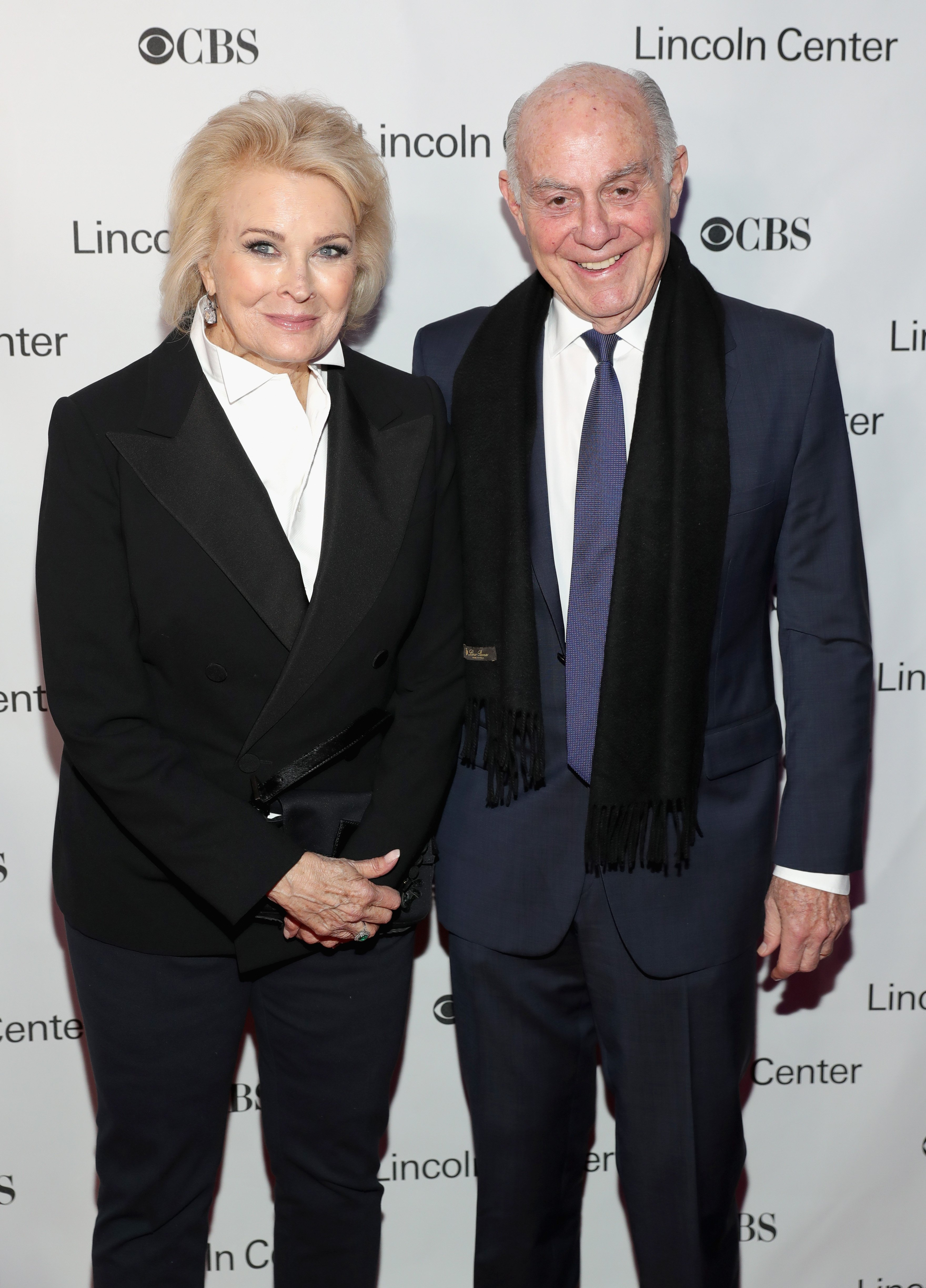 Candice Bergen and Marshall Rose attend Lincoln Center's American Songbook Gala red carpet at Alice Tully Hall on February 1, 2017 | Photo: GettyImages