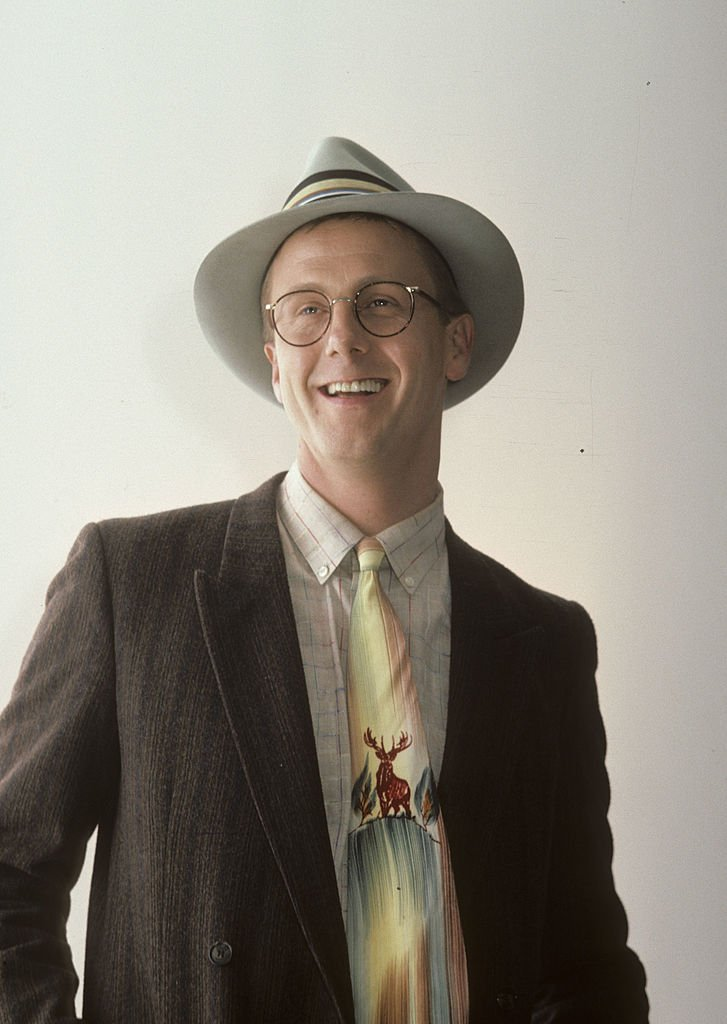 Actor Harry Anderson attends Comic Relief Benefit, March 1986   Source: Getty Images