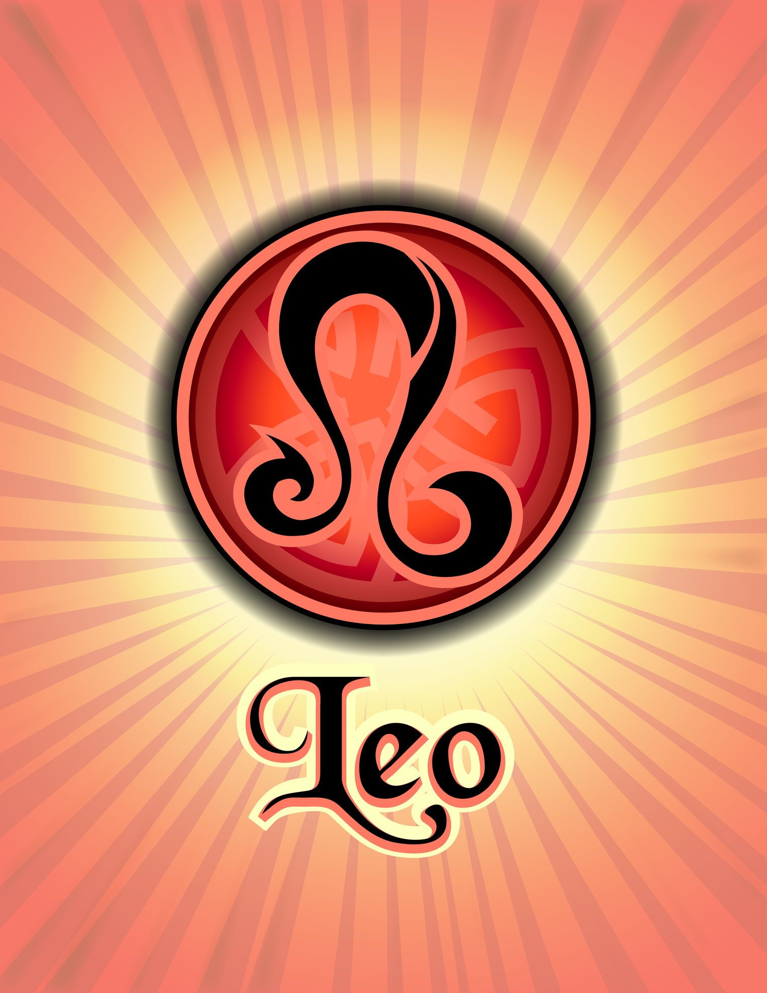 Astrology Leo Zodiac with Red Glow | Photo: Getty Images