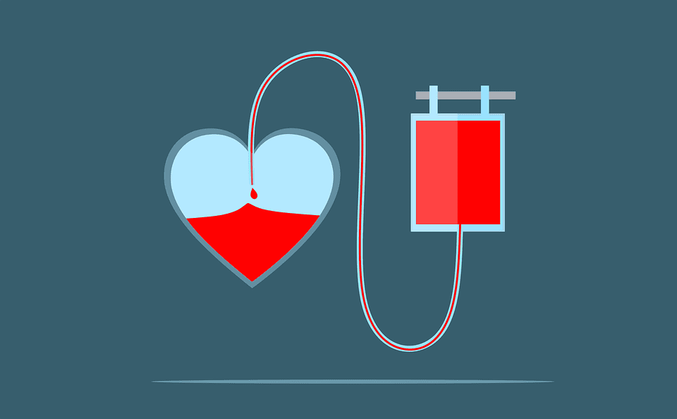 Blood donation animation.   Photo: Pexels/ mohamed_hassan
