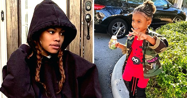 Teyana Taylor's Daughter Junie Throws Sass as She Calls Herself Boss While Riding a Car