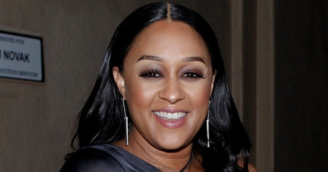 Tia Mowry Posts Snaps of Her Kids Cutely Interrupting Her Bath as She Tries to Enjoy Alone Time