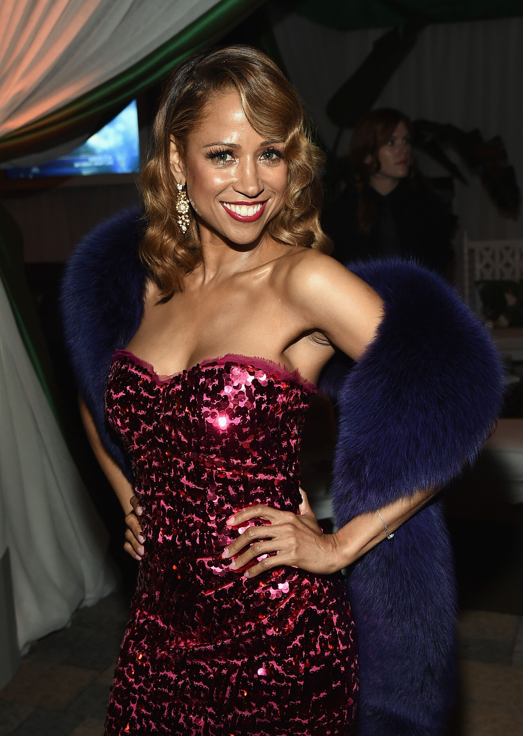 """Clueless"" actress Stacey Dash during a formal event 