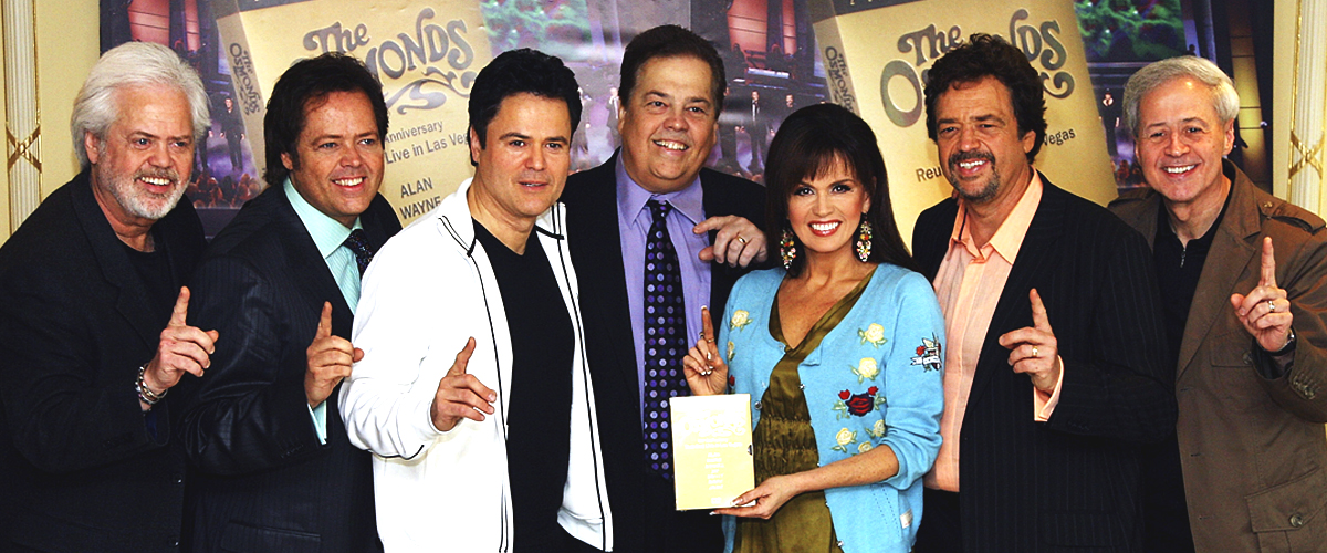 Fans Are Crying Watching the Osmond Brothers Perform for the Last Time on Marie's 60th Birthday