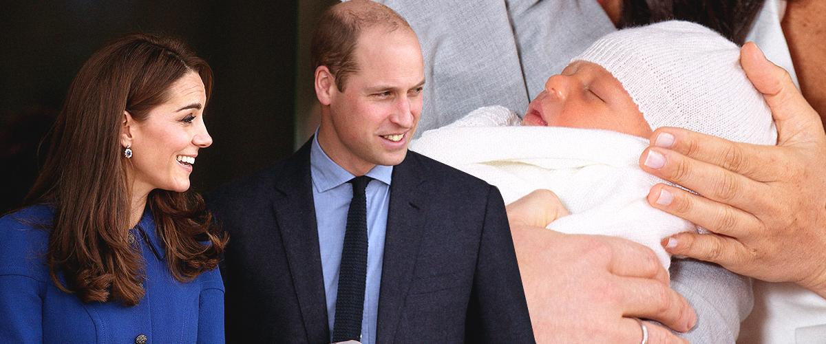 Le Prince William et Kate Middleton rencontrent enfin Bébé Archie