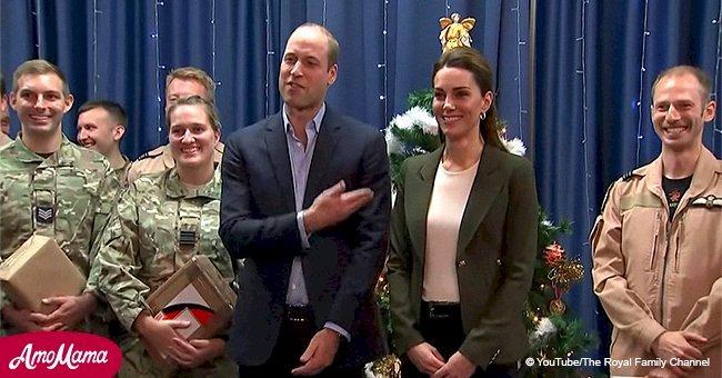 Le Prince William a taquiné Kate Middleton parce qu'elle s'est habillée comme un sapin de Noël