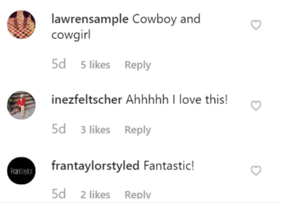 Fans' comment on Meghan McCain's post. | Source: Instagram/meghanmccain
