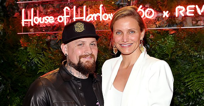 Benji Madden and Cameron Diaz atHouse of Harlow 1960 x REVOLVE on June 2, 2016, in Los Angeles, California   Photo:Donato Sardella/Getty Images