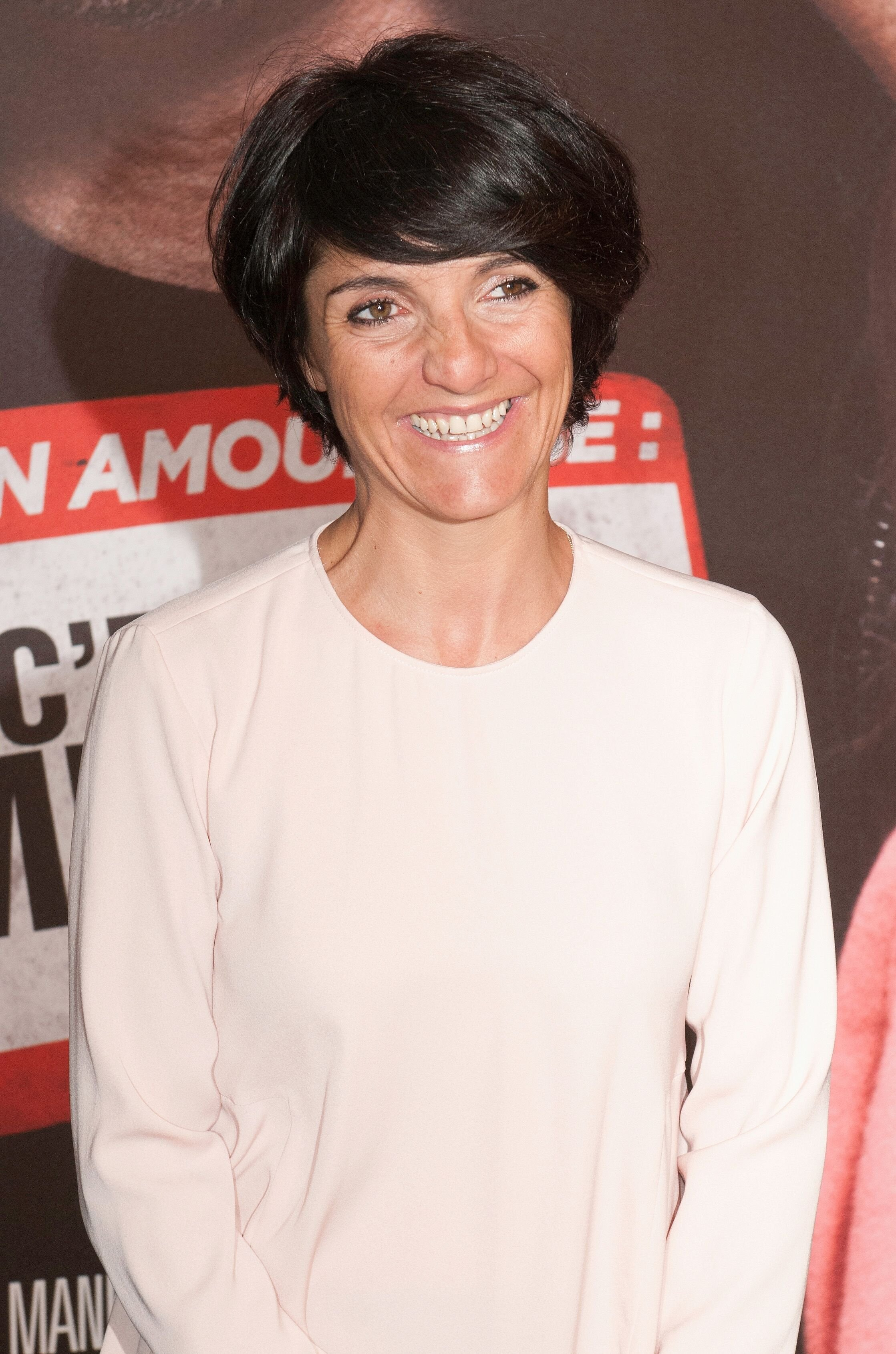 Florence Foresti au Cinéma UGC Normandie le 17 mars 2014 à Paris, France. | Photo : Getty Images