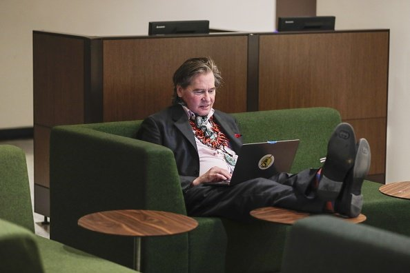 Val Kilmer at the United Nations headquarters to promote the Sustainable Development Goals (SDGs) initiative   Photo: Getty Images