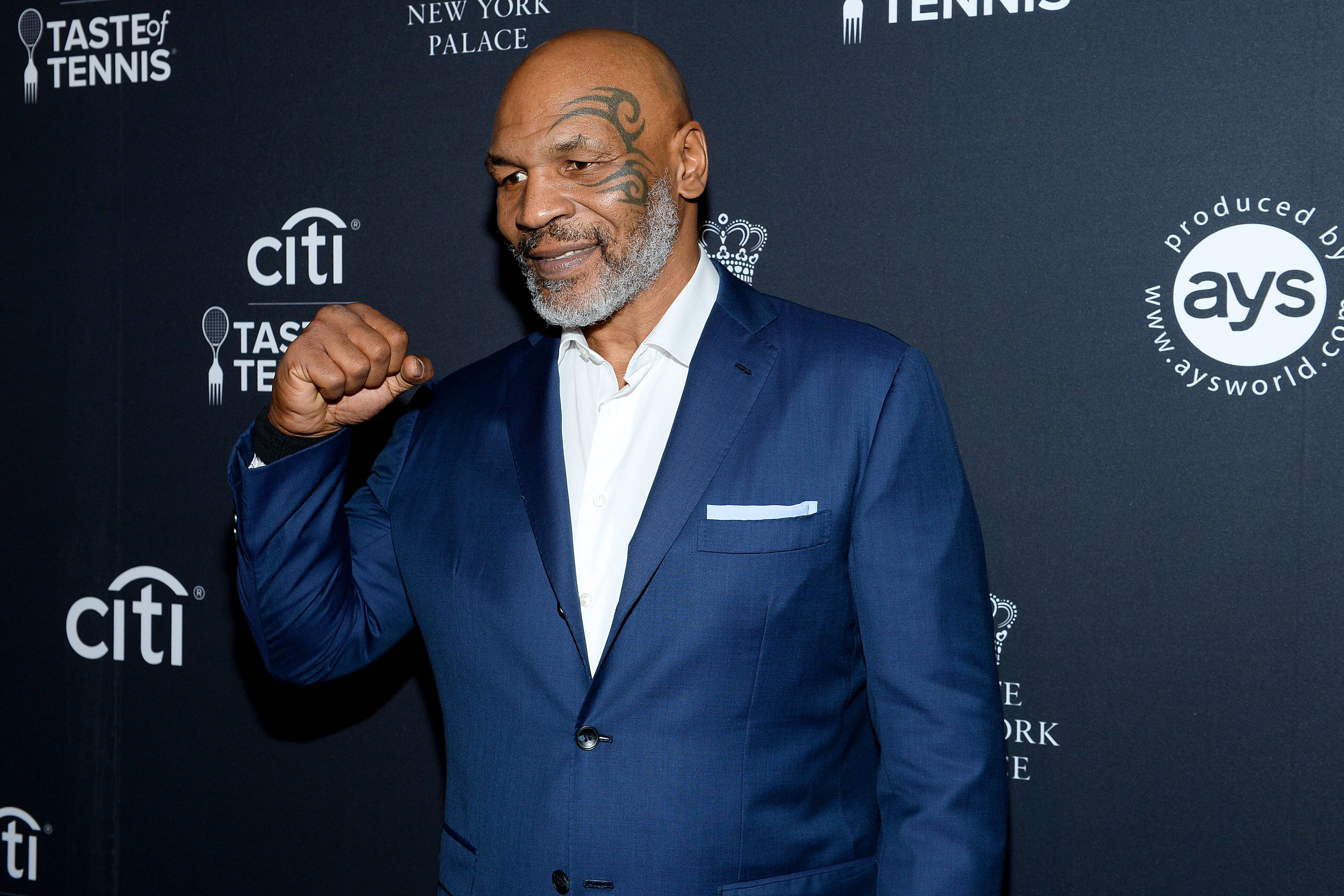 Mike Tyson attending the Citi Taste of Tennis in August 2019. | Photo: Getty Images