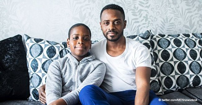 10-year-old reduced to tears as he finds 'No blacks' written on his door