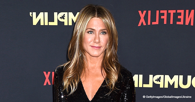 Jennifer Aniston Wears Nothing but Short Shorts in Racy Photos