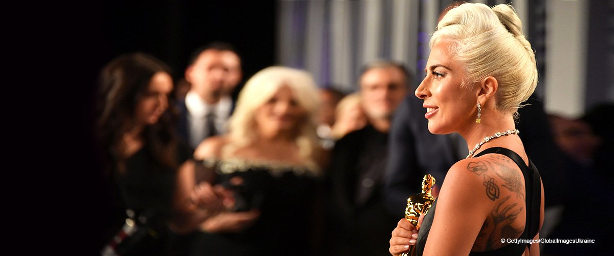 Lady Gaga Chokes on Her Tears during a Powerful Speech after Winning Her First Oscar