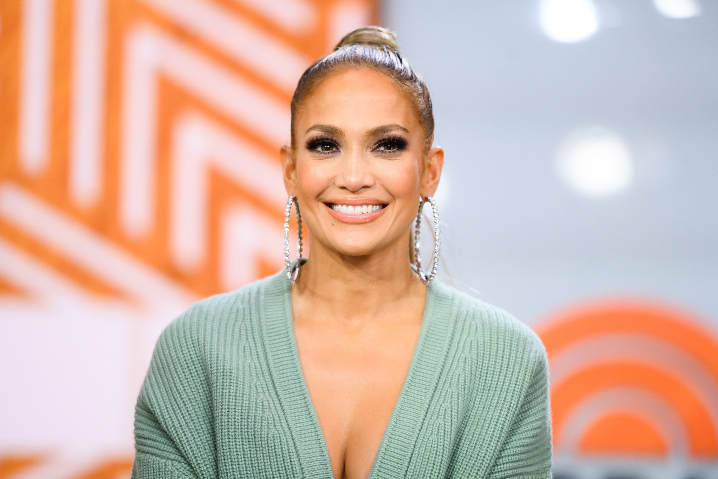 "Jennifer Lopez on the ""Today Show"" on May 6, 2019 