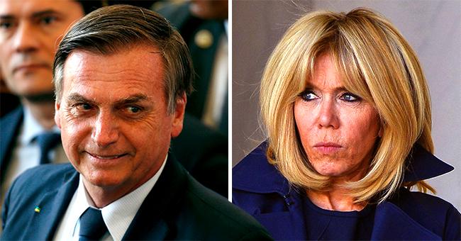 """Brigitte Macron insultée à nouveau : l'ambassadeur de Jair Bolsonaro l'a qualifiée de """"dragon"""""""