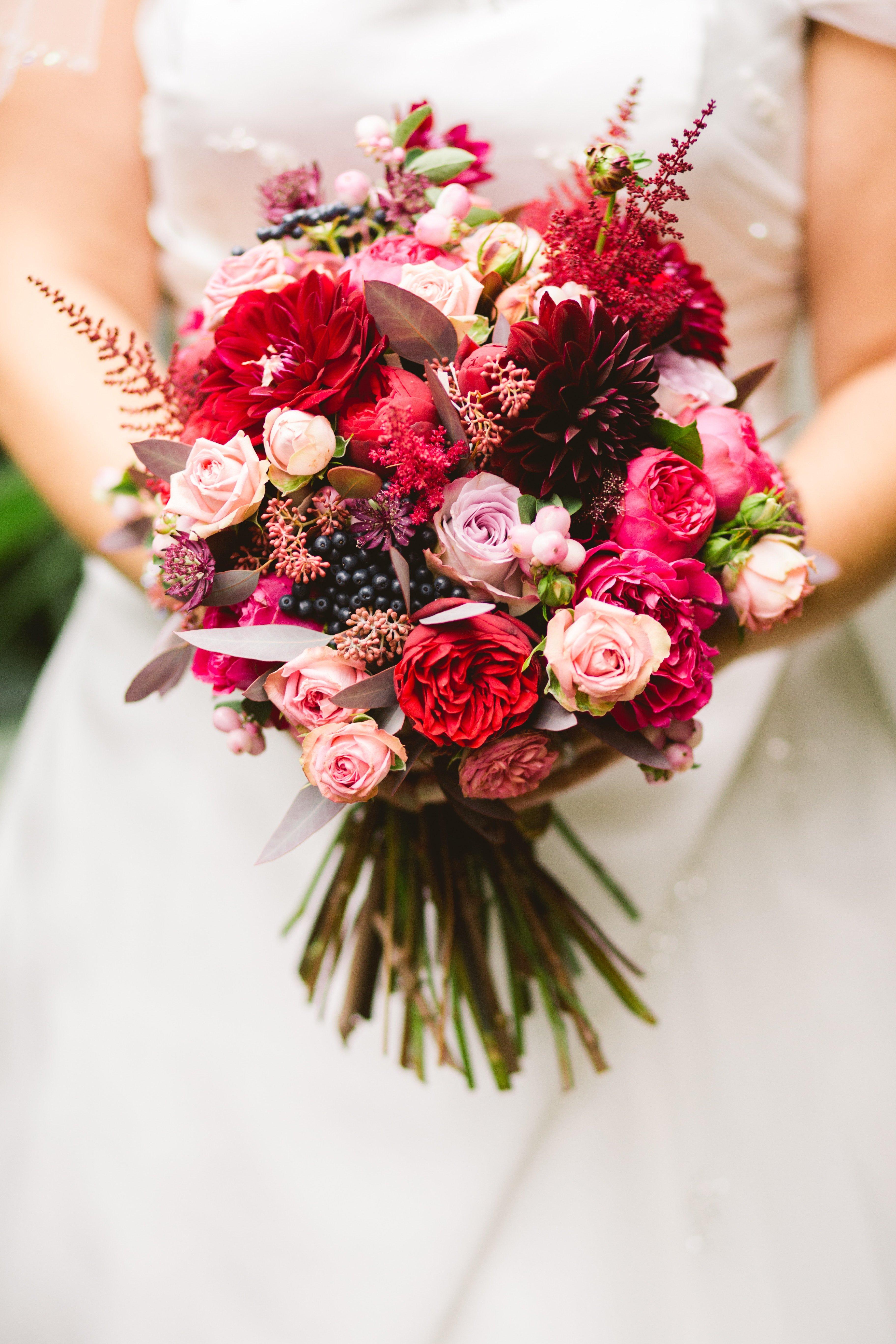 Un bouquet de mariée. l Source: Unspash