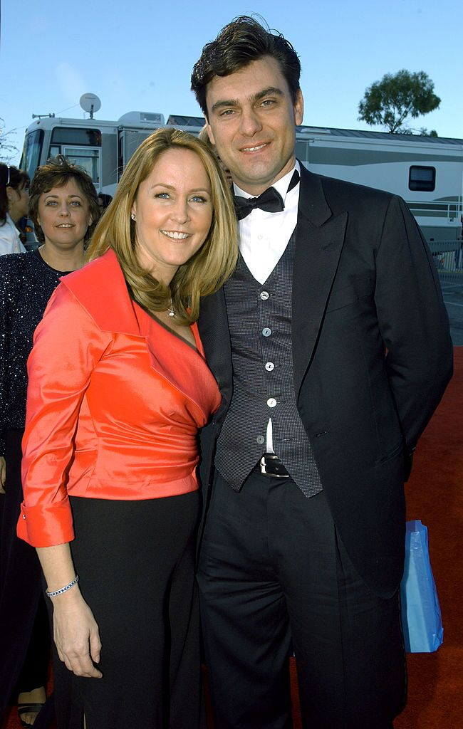 Erin Murphy and husband Darren Dunckel attend the TV Land Awards 2003 at the Hollywood Palladium  | Getty Images