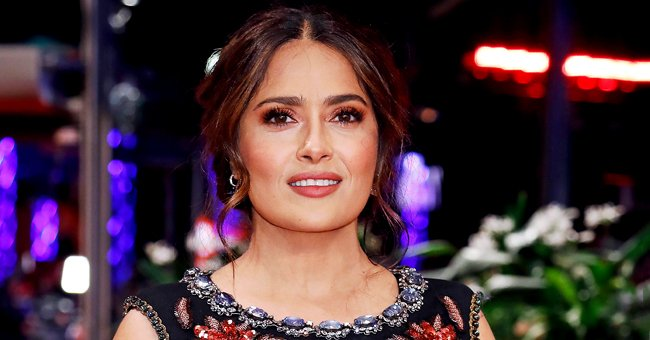 Salma Hayek Shows Her Red Santa Outfit for Christmas and Fans Can't Wait to See Her in It