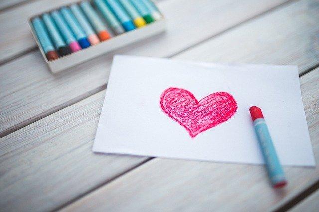 Dibujo de un corazón. |Imagen:  Pixabay