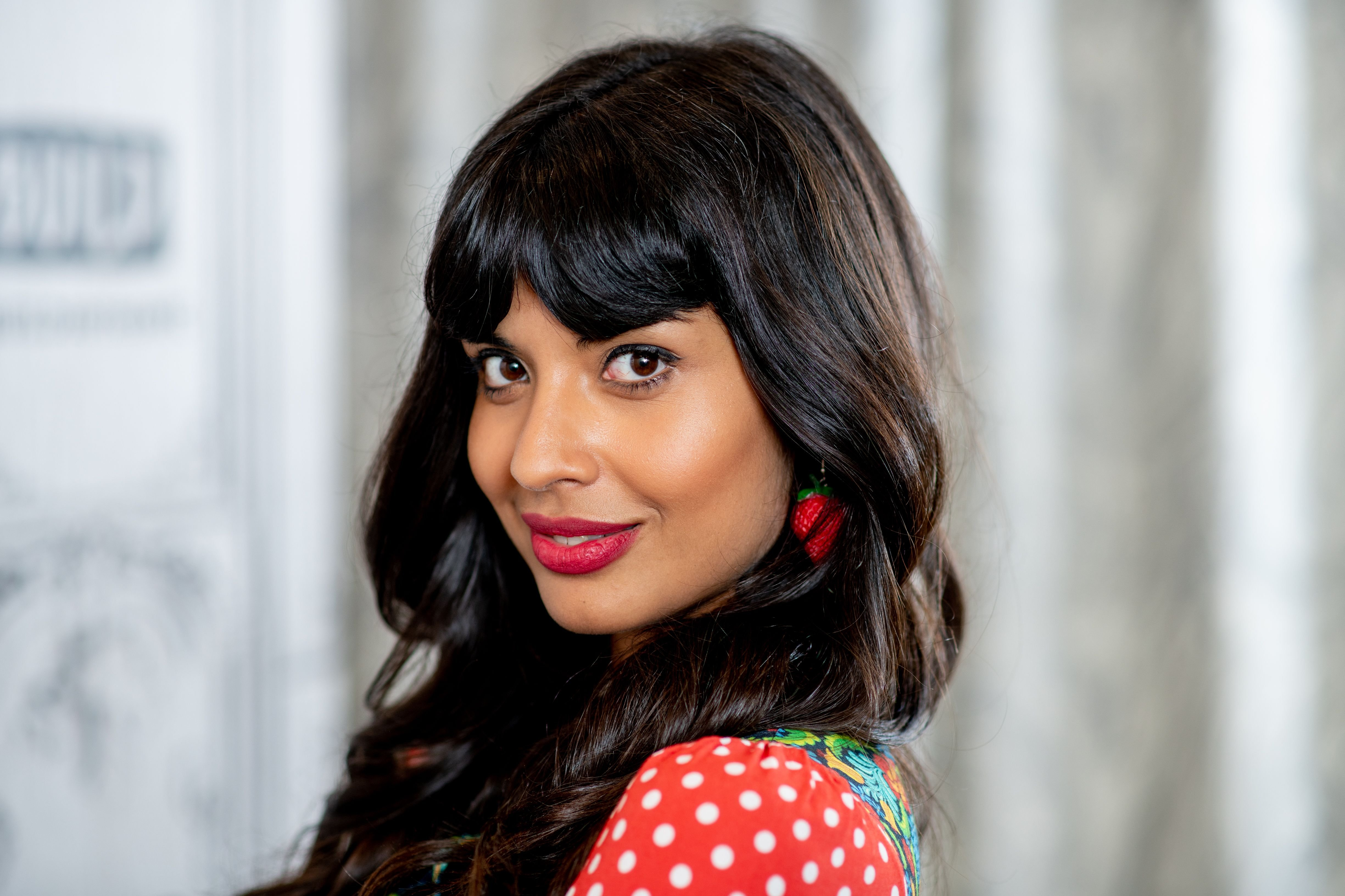 Jameela Jamil at Build Studio in October 2018 in New York City   Source: Getty Images