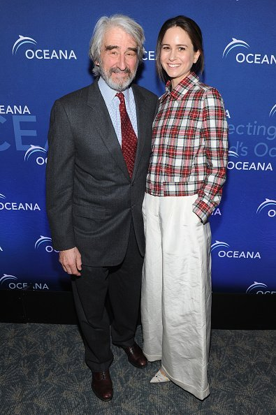 Sam Waterston and Katherine Waterston at Four Seasons Restaurant on April 1, 2015 in New York City. | Photo: Getty Images