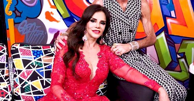 Lucía Méndez dolorida recuerda su hermosa relación con Camilo Sesto