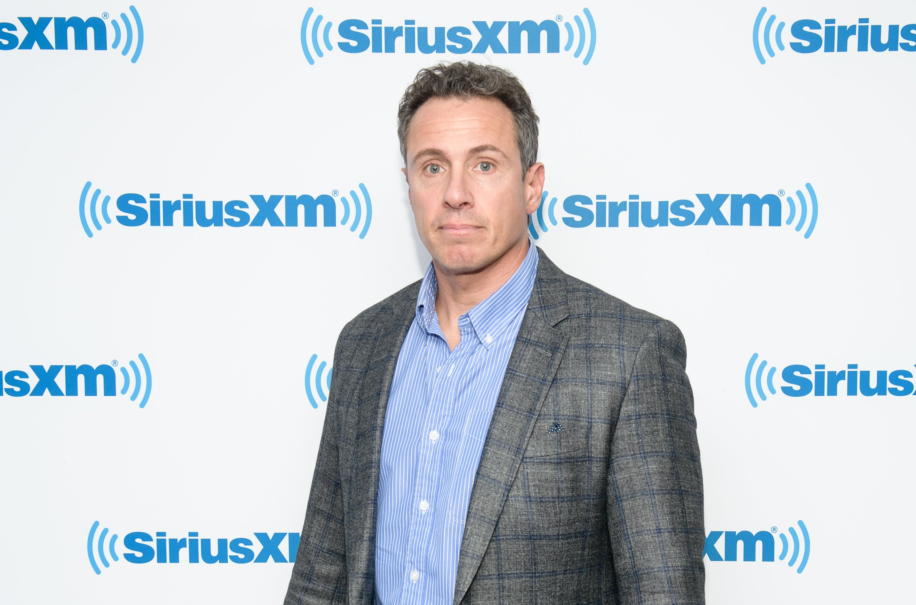 Chris Cuomo at the the SiriusXM Studios in New York City   Photo: Getty Images