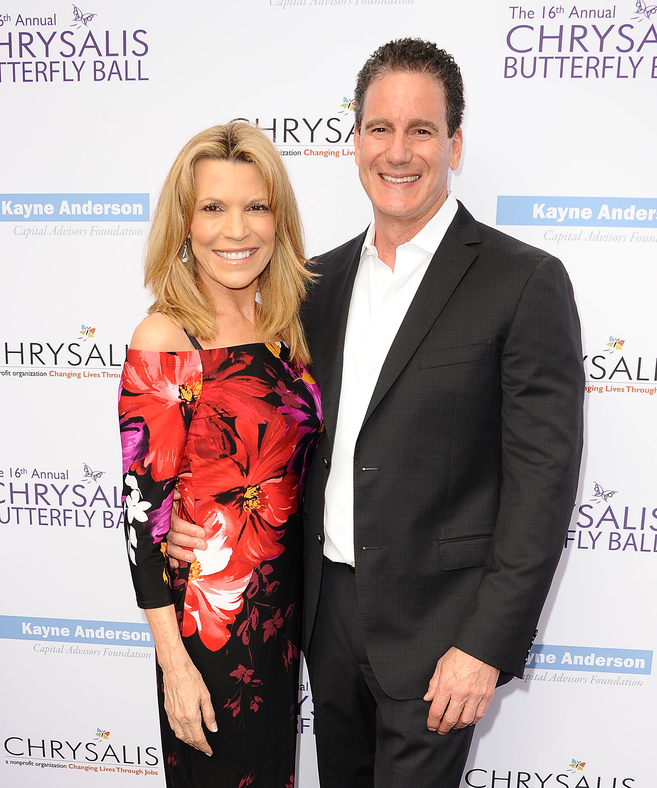 Vanna White and John Donaldson at the 16th annual Chrysalis Butterfly Ball on June 3, 2017 | Photo: Getty Images