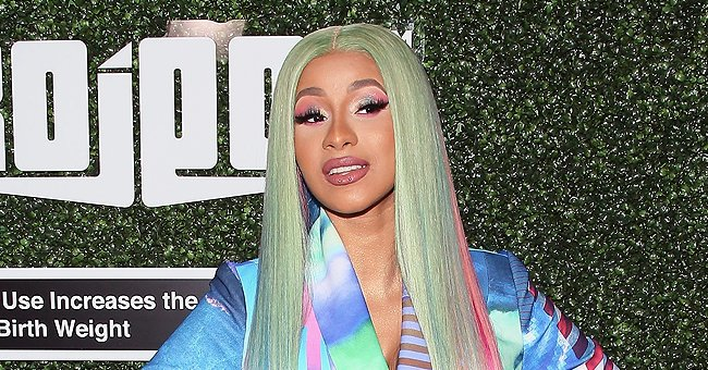 Check Out Cardi B & Daughter Kulture Posing in Awesome Medusa & Wonder Woman Costumes (Photos)