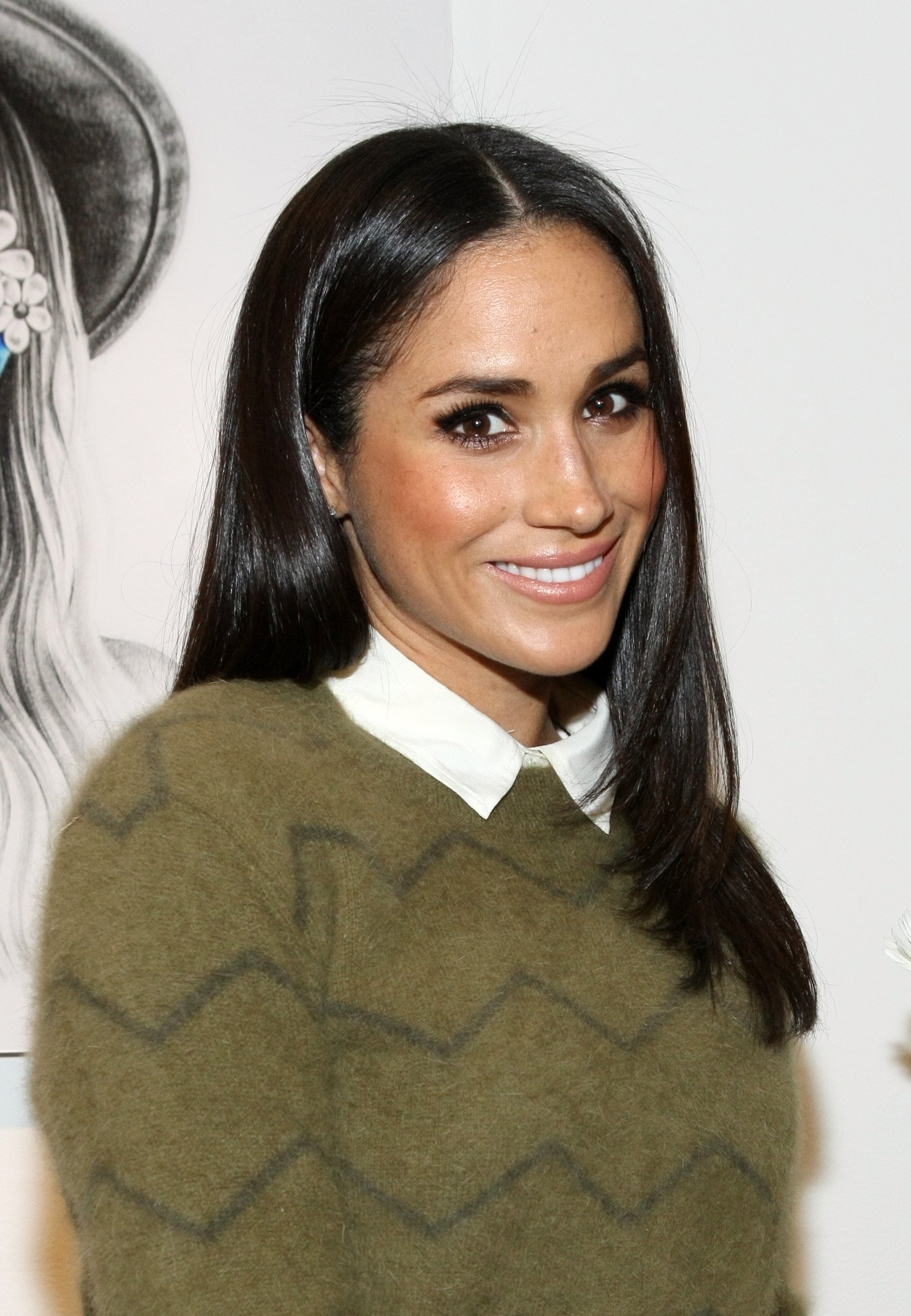 Meghan Markle at the Marc Jacobs Daisy Chain Tweet Pop Up Shop Party in New York City | Photo: Getty Images