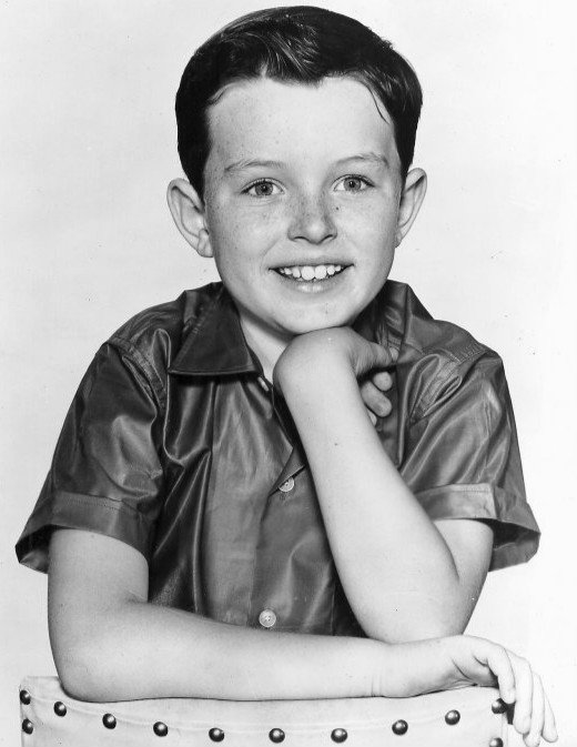 """Jerry Mathers as Beaver Cleaver from the television program """"Leave It to Beaver."""" 