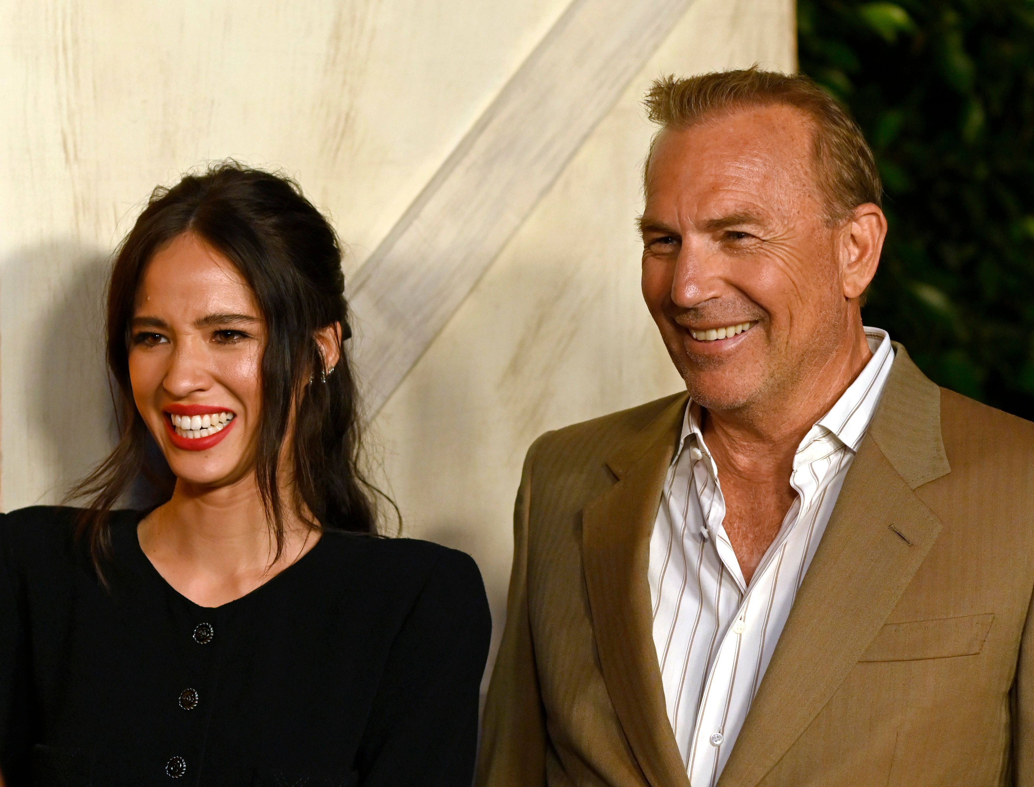 """Kelsey Asbille and Kevin Costner atParamount Network's """"Yellowstone"""" season 2 premiere partyon May 30, 2019, in Los Angeles, California 