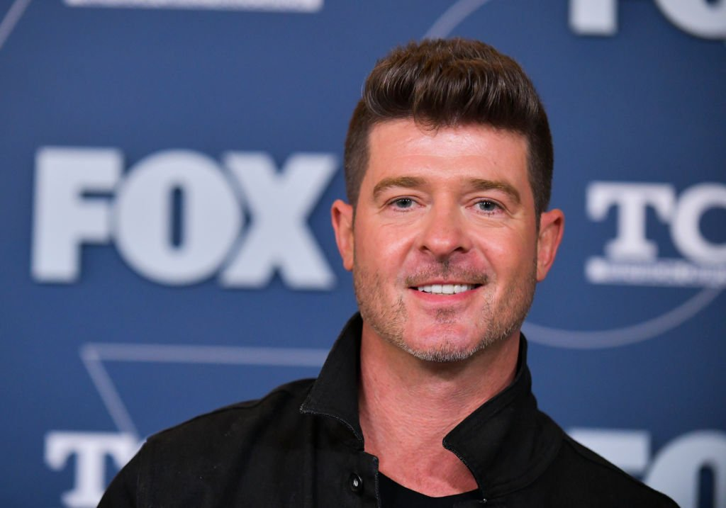 Robin Thicke attends the FOX Winter TCA All Star Party at The Langham Huntington, Pasadena on January 07, 2020 in Pasadena, California | Photo: Getty Images