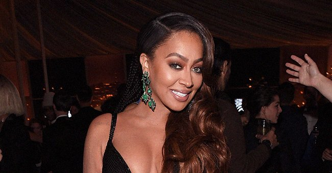 La La Anthony Dazzles in 'Maleficent' Outfit and Shows off Her Curves —See the Video