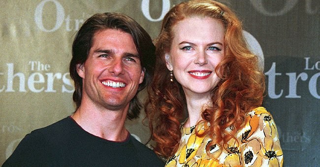 """Tom Cruise and Nicole Kidman at the premiere of """"The Others"""" 