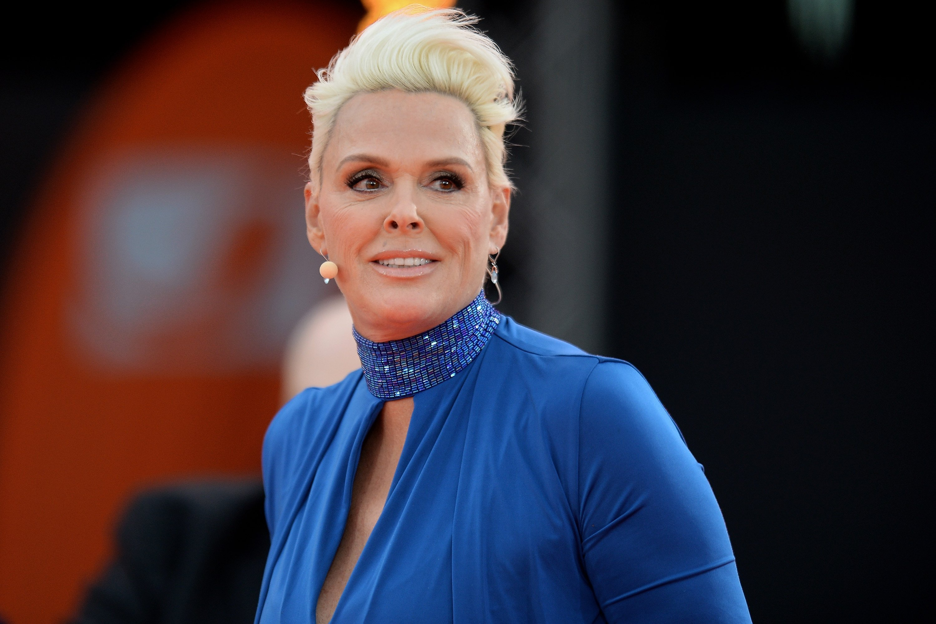 Brigitte Nielsen at the taping of the tv show 'Abenteuer Grillen - Der kabel eins BBQ-King 2015' on May 9, 2015 | Source: Getty Images